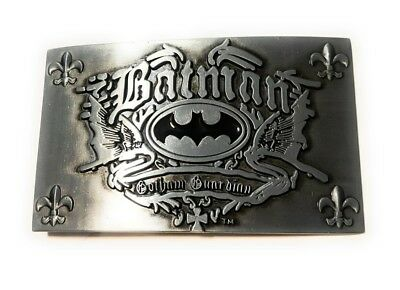 ~ NEW GOTHAM BATMAN GOTHAM GUARDIAN ~ METAL BELT BUCKLE ~ great for comic con