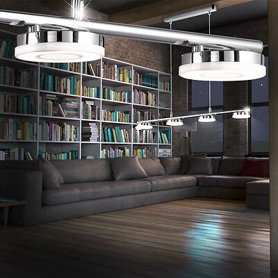 moderne deckenleuchte led farbwechsler wohnzimmer licht decken lampe esszimmer eur 58 85. Black Bedroom Furniture Sets. Home Design Ideas