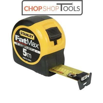 Stanley 033864 FatMax Magnetic 5m Tape Measure METRIC ONLY FMHT0-33864