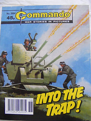 """Commando Comic War Stories In Pictures #  2684 """"into The Trap"""""""