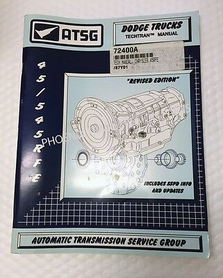 atsg dodge jeep 45rfe 5 45rfe transmission rebuild instruction 45rfe 5 45rfe transmission atsg technical service and repair manual for dodge