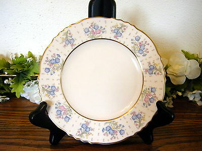 Forget Me Not Syracuse Bread Plates