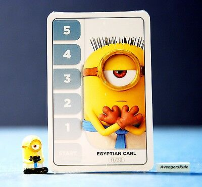 Despicable Me Minions Challenge Card Game 11/32 Egyptian Carl
