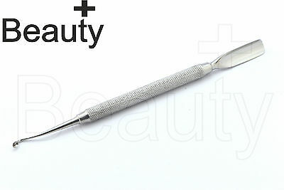 Professional Nail Cuticle Pusher And Spoon End Manicure Pedicure Pusher CUT-6