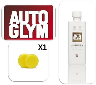 Autoglym Car Valeting 325ml Extra Gloss Protection Shine with 1 Applicator Pad