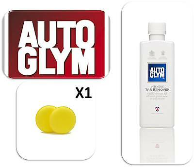 Autoglym Car Van Valeting Intense Adhesive Tar Remover with Applicator Pad