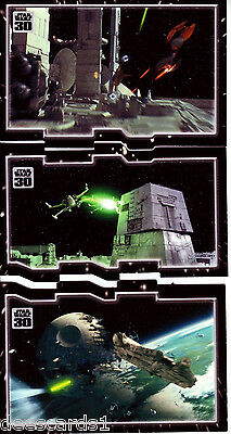 Star Wars 30th Anniversary TRYPTICH INSURMOUNTABLE ODDS PUZZLE INSERT SET