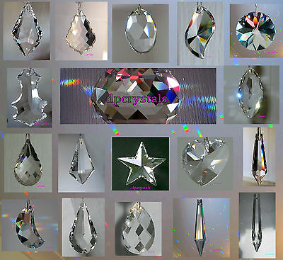 Suncatcher Hanging Crystal Rainbow Prism Feng Shui Wind chime Mobile SUPER SALE