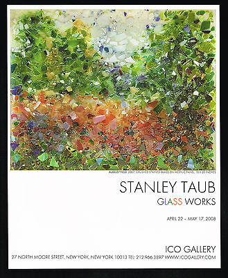 2008 Stanley Taub Art August Field Gallery NYC New York Print Ad