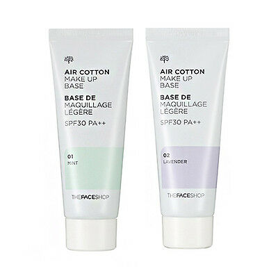 [THE FACE SHOP] Air Cotton Make Up Base - 40ml (SPF30 PA++)