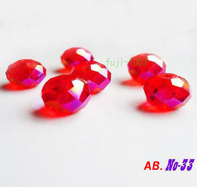 Promotions Faceted 32Pcs 8mm Swarovski Crystal Rondelle 5040 Beads 1C33