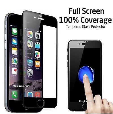 Full Coverage Tempered Glass Film Screen Protector for iPhone 6 / 6S / 6 Plus