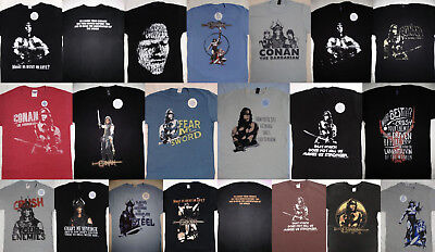 Conan the Barbarian Movie Arnold Schwarzenegger T-Shirt