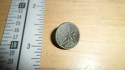 Ancient Byzantine? Button Nice Condition   -  Inv B1
