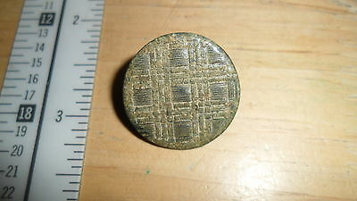 Ancient Byzantine? Button Nice Condition   -  Inv B7