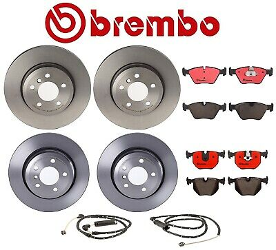 For BMW E90 E91 E92 3 Series Front Ceramic Disc Brake Pad Set with Sensor Brembo