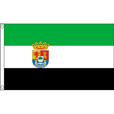 Extremadura Flag 5Ft X 3Ft Spain Spanish Region Banner With 2 Eyelets New