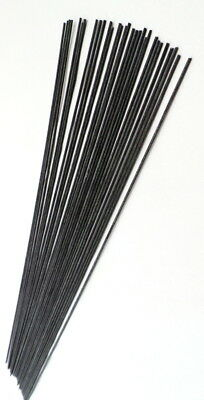 Black Fibreglass stems, 30x20cm long (Pole float making materials & supplies)
