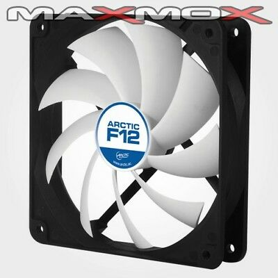 Arctic Cooling F12 120mm PC Computer ATX Tower Gehäuse Lüfter leise silent Fan