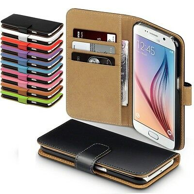 Housse Etui Coque Simili Cuir Galaxy S6 / S6 Edge / Edge Plus + 1  Stylet