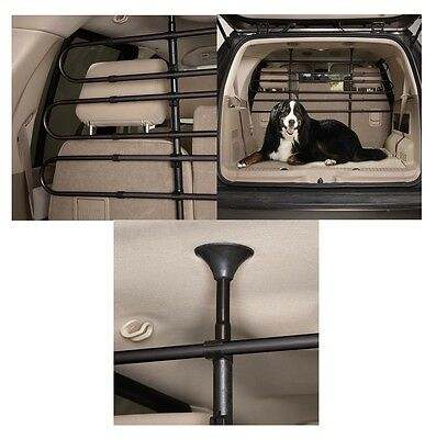 SUV Minivan Station Wagon Pet & Cargo Vehicle Barriers - Steel Safety for Travel