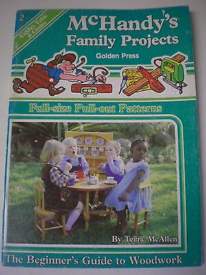 Kiddies Table & Chairs McHANDY'S FAMILY PROJECTS Full Size Patterns  Woodwork
