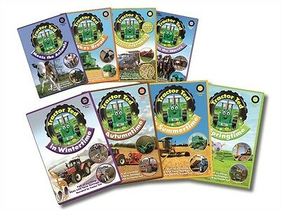 Traktor Ted DVD - Neu & Verpackt - Childrens Farming All About Tractors Animals