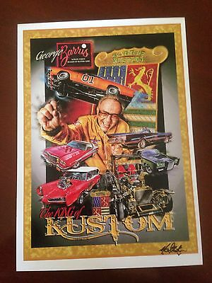 George Barris The King Of Kustom  Print