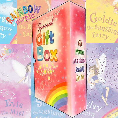 Rainbow Magic Weather Fairies Collection 7 Books (Series 8 to 14)Gift Box Set PB