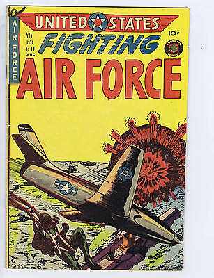 United States Fighting Forces #11 Superior Pub 1954 CANADIAN EDITION
