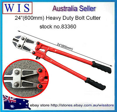 "24""(600mm) Heavy Duty Bolt Cutter Cuts Rebar 8mm for Cutting Rebar Rod-83360"
