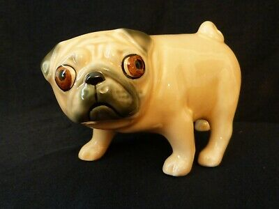 Artists Porcelain Figure Ornament Funny Caricature Rottweiler Dog