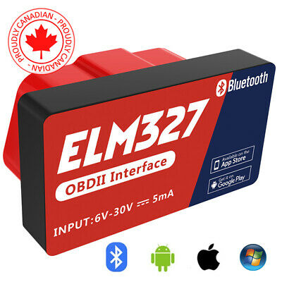 2020 ANDROID PC Mini ELM327 OBD2 OBDII Bluetooth Adapter Auto Scanner TORQUE B3