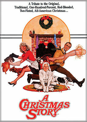 A Christmas Story Photo Quality Magnet: Movie Poster Reproduction
