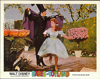 BABES IN TOYLAND orig1961 DISNEY lobby card poster ANNETTE FUNICELLO/RAY BOLGER
