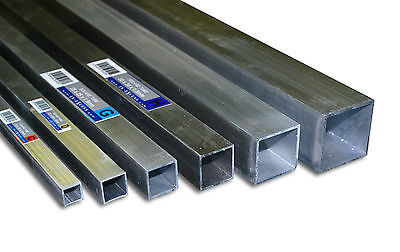 Aluminium Square Tube Various Sizes / 2200mm Long Grade HC6061 Mill Finish