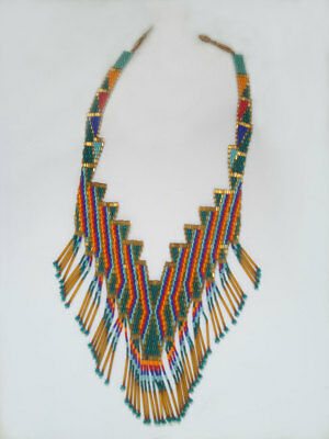 Old Indian Bead Necklace ~ 1930's ?