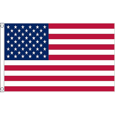 Old Glory Flag 5Ft X 3Ft Usa United States Of America Country Banner 2 Eyelets