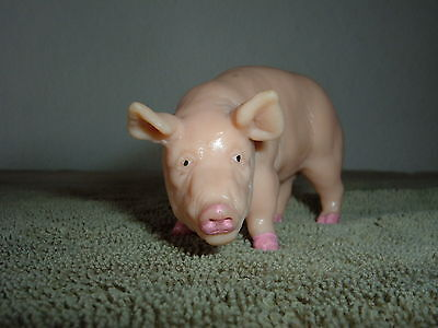 Schleich retired pig hog Boar 1 vintage painted feet mouth 13217 made in Germany