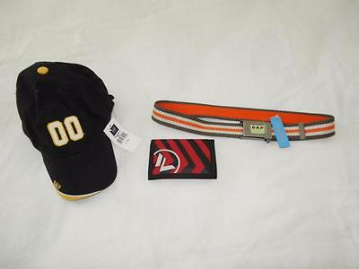 Lot of 3 New Boy's Accessories - Hat, Wallet, Belt - (Gap, Airwalk)