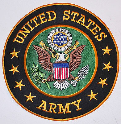 Huge United States Army Patch ~ 10 Inches! - Brand New Vest Patch