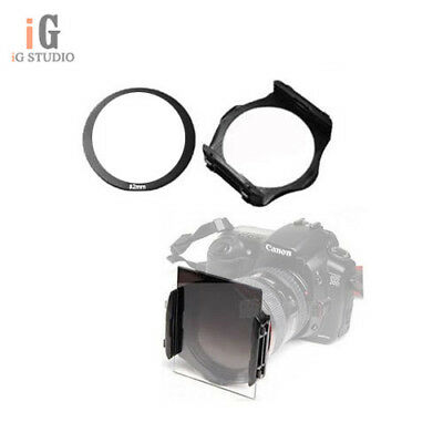 Photo 82mm ring Adapter + Color Colour square Filter Holder for Cokin P series