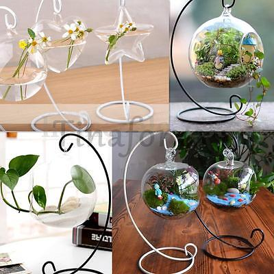 Romantic Wedding Party Candle Holder Candlestick Glass Ball Lantern Hanging