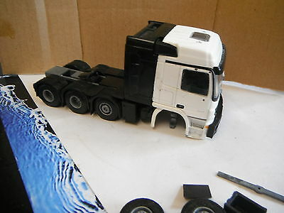 LION TOY   TEKNO  MERCEDES 8 WHEELER TRACTOR  PROJECT