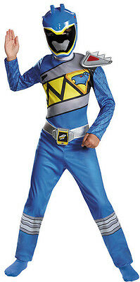 Power Rangers - Dino Charge Blue Ranger - Child Costume