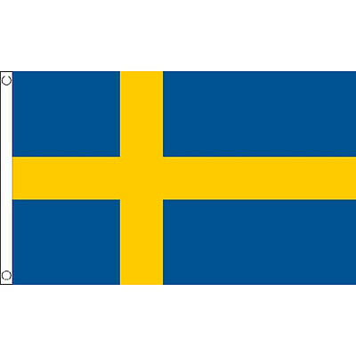 Sweden Large Flag 8Ft X 5Ft Swedish Country Banner With 2 Metal Eyelets