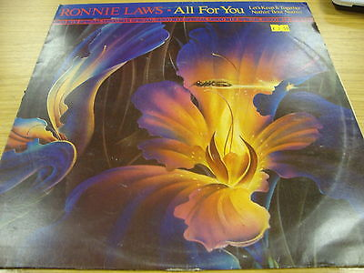 """Ronnie Laws All For You (PS) 12"""" Vinyl Single"""