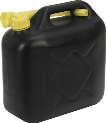Sealey Fuel Can 10ltr - Black