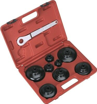 Sealey Paper Cartridge Type Oil Filter Cap Wrench Set 9pc
