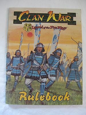 Clan War Legend of the Five Rings Rule Book